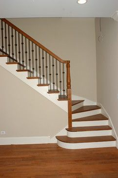 Alternating Knuckles Stairs Stair Railing Iron