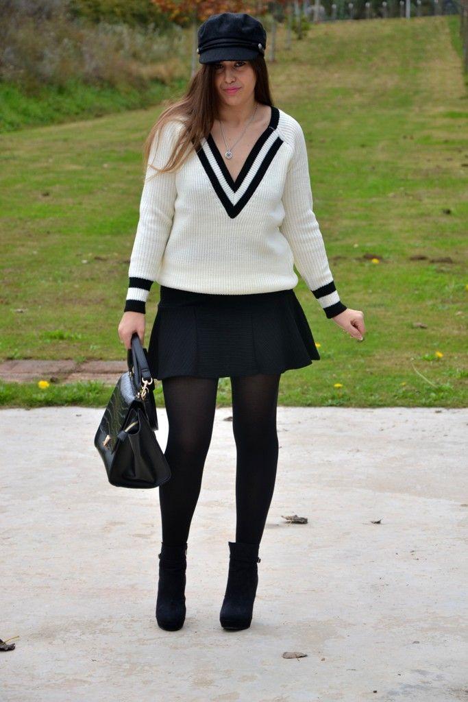V Neck Sweater #kissmylook