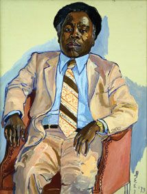 Alice Neel did some really great portraits, hitting her stride 40-some years into her career