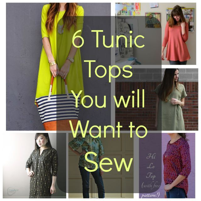 6 Tunic Tops You Will Want to Sew Using Free Patterns | SARIKA SINGH ...