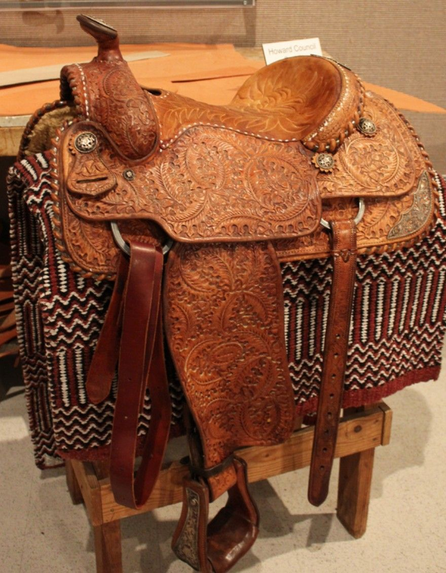 52a1ddb59641c8 Howard Council Saddle | Saddles | Saddles, Cowboy hats, Horses