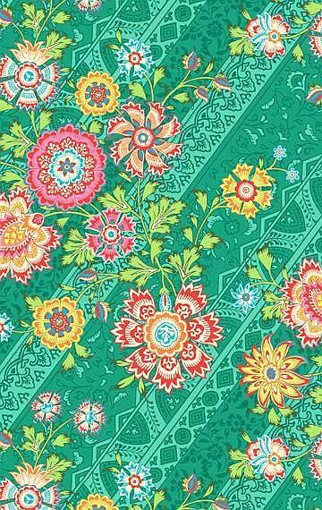 Amy Butler fabric 'Lark' - Heirloom Jade