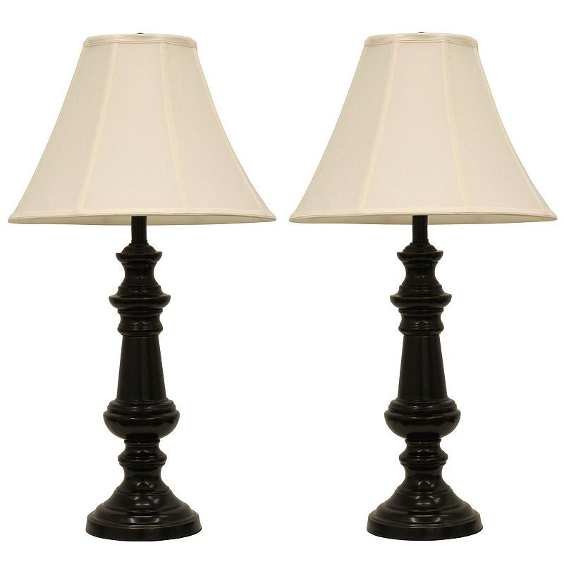 Dcor Therapy Touch Control Bronze Table Lamps Set Of 2 In 2020 Bronze Table Lamp Table Lamp Sets Decor Therapy