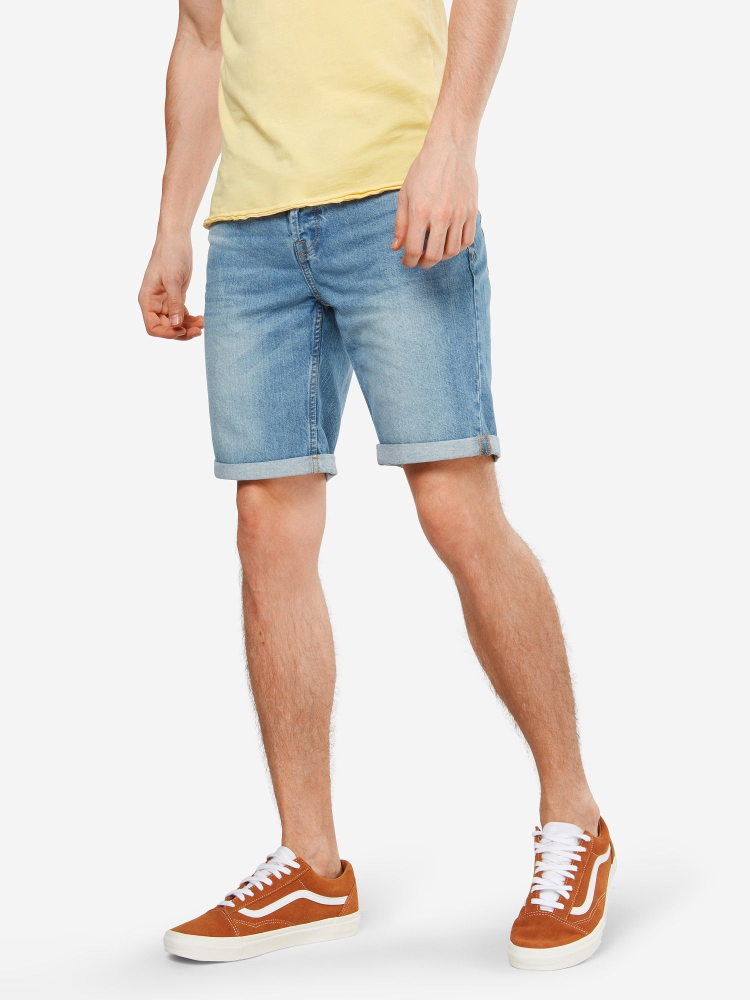 Only & Sons Jeans Shorts 'onsPLY SHORTS LIGHT BLUE PK 8614' Herren, Blue Denim, Größe 33 #lightblueshorts