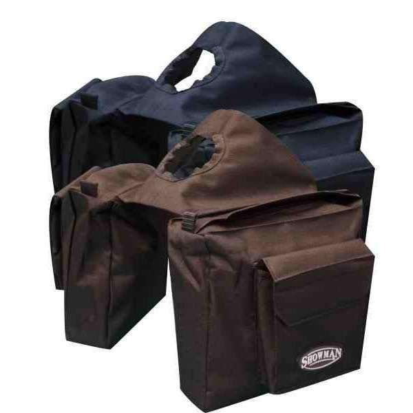 Showman Insulated Cordura Nylon Horn Bags with Water Bottles
