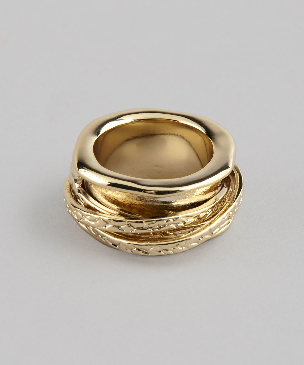 Beyond Rings Gold Spinner Ring