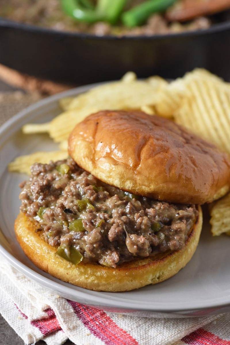 Philly Cheesesteak Sloppy Joes images