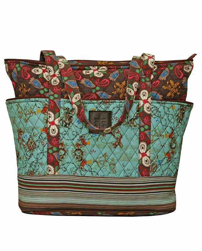 Sassperella Tote Bag Quilted Fabric Accessories Similar To