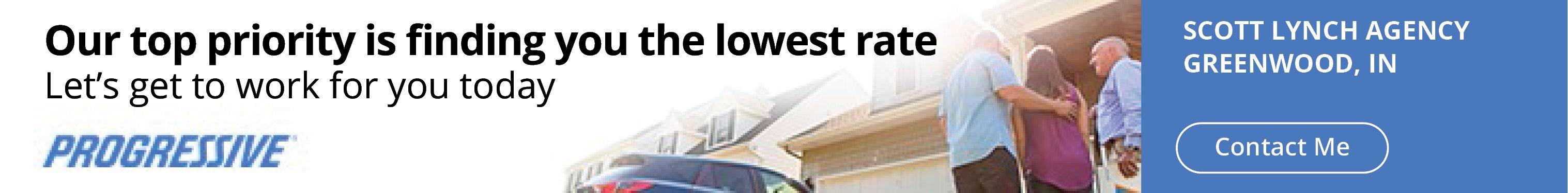 While Erie Insurance is our preferred partner, Progressive
