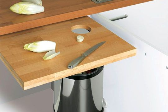 Ranger la cuisine  astuces et produits malins Plan de travail - Hauteur Plan De Travail Cuisine Ikea
