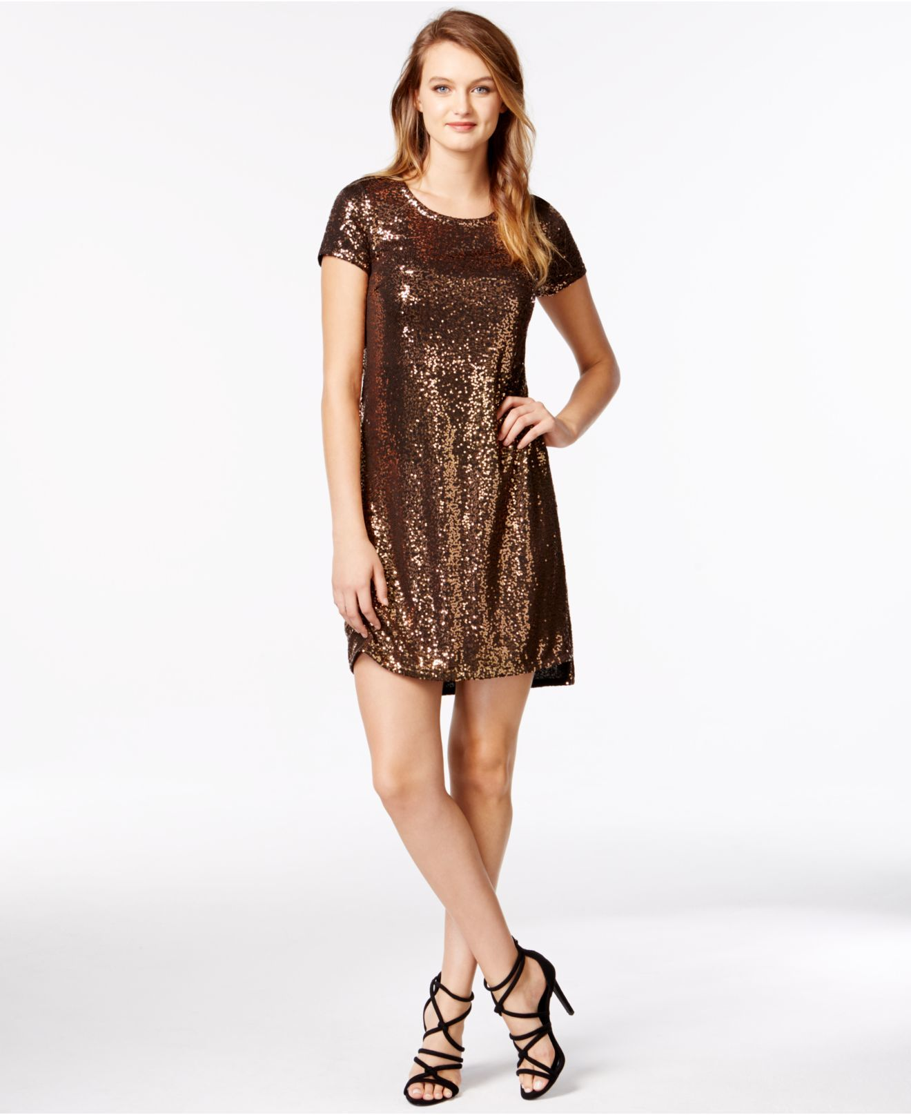 Kensie sequin dress long sleeve best dress ideas pinterest