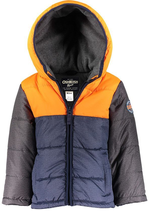 4cfb7f274 Baby Boy OshKosh B gosh® Quilted Colorblock Heavyweight Puffer ...