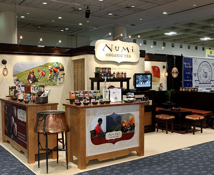 Custom trade show booths condit portfolio food show booth pinterest inline and display - Food booth ideas ...