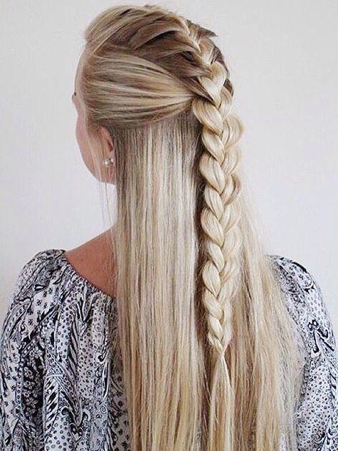 Geflochtene Frisur Für Lange Haare Braided Long Hair Douglas
