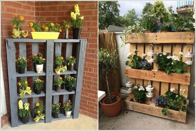 Unique Planter Shelf Ideas For Your Home And Garden Garden Shelves Unique Planter Home And Garden