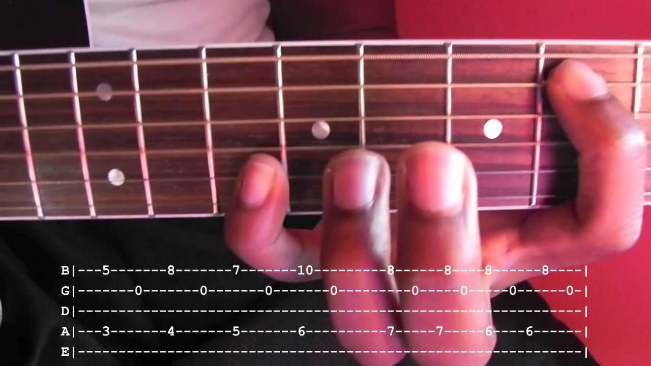 Blackbird Fingerstyle Guitar Lesson With Tab Musical Pinterest