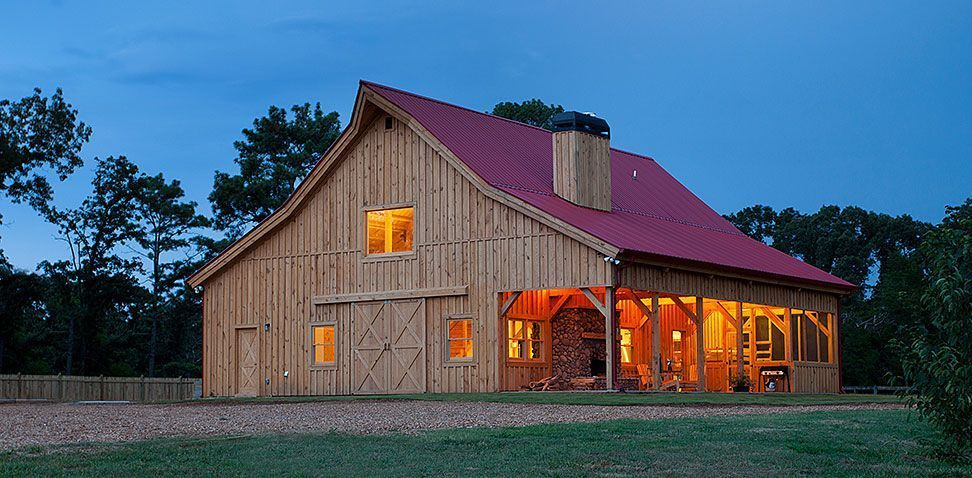 Top 20 Awesome Barndominium Design Ideas | Barn house kits ... Huge Barndominium