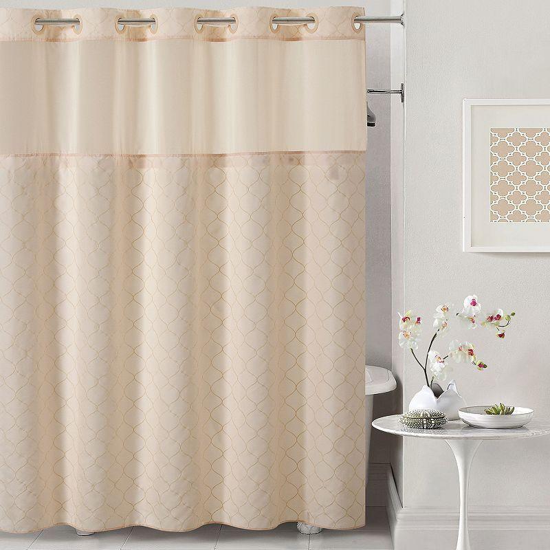 Hookless Mosaic Shower Curtain Liner Hookless Shower Curtain