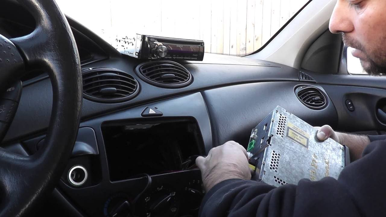 Ford Focus Radio Install Ford Focus Ford Kenwood Radio