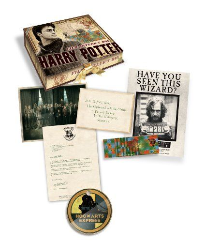 Ron Weasleys 7 Piece Ribbon Tied Artefact Box Harry Potter New /& Sealed