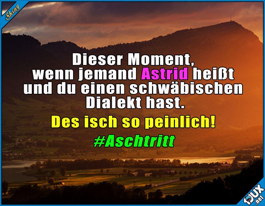 #Aschtritt