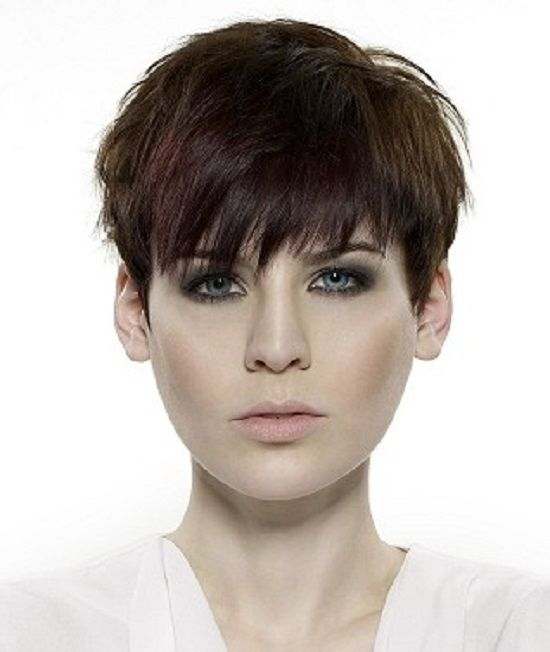 bangs hair style tomboy hairstyles for hairstyles ideas 8440