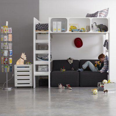 lit mezzanine duplex la redoute mobile interior design. Black Bedroom Furniture Sets. Home Design Ideas
