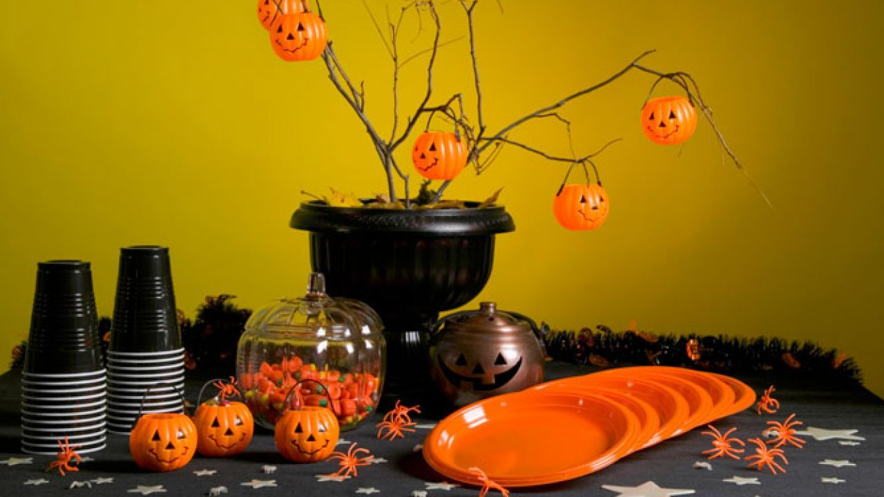 Lujo Decoracin Mesa Halloween Coleccin Ideas de Decoracin de