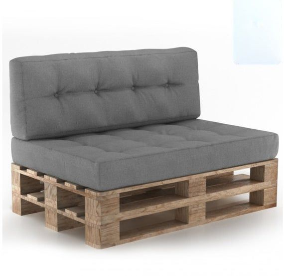 Pallet Cushions Pad Seat Garden Outdoor Furniture Sofa Foam Seat Cover Pad Upholstery Foam Cushion G Pallet Furniture Cushions Cushions On Sofa Pallet Cushions