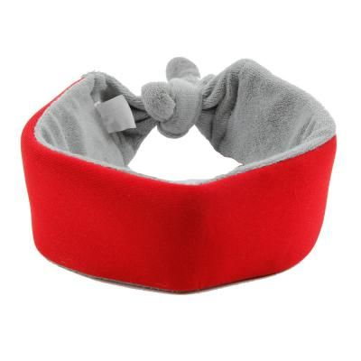 Pet Life Red Neo Breeze Flexible Terry Neoprene Ice Pack Insert Able And Adjustable Cooling Dog Neck Wrap Pet Life Waterproof Dog Coats Neck Wrap