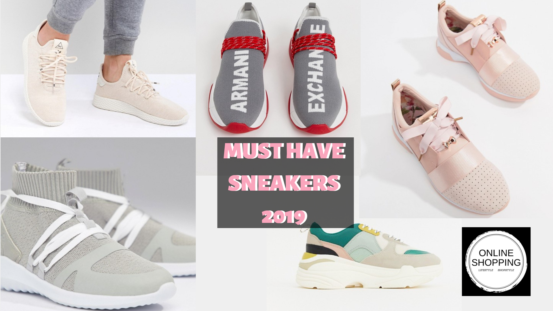 MUST HAVE SNEAKERS 2019   Blush suede