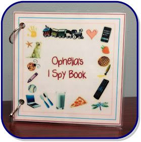Random Bits: I Spy Book {kid craft}