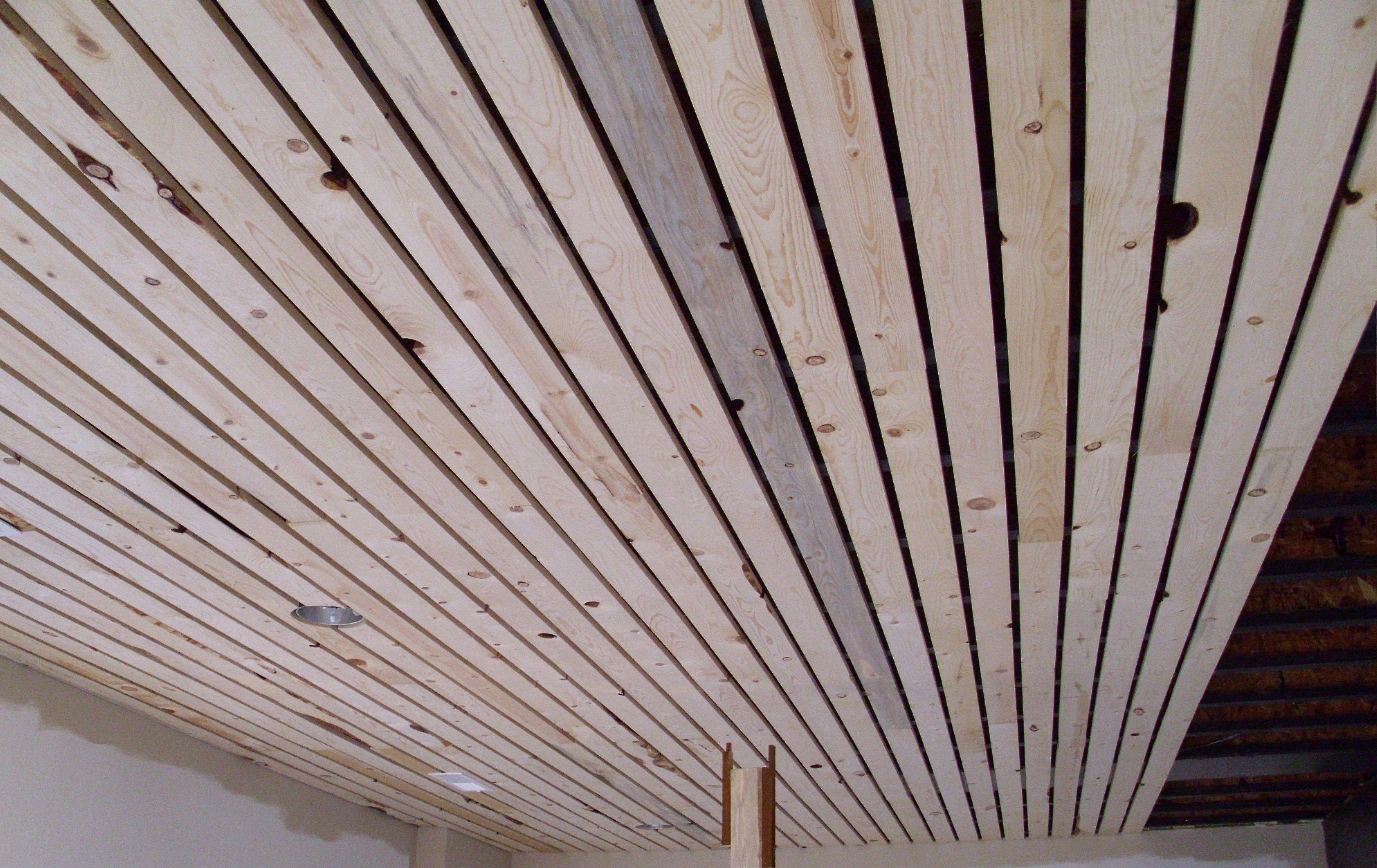 Slat Board Ceiling