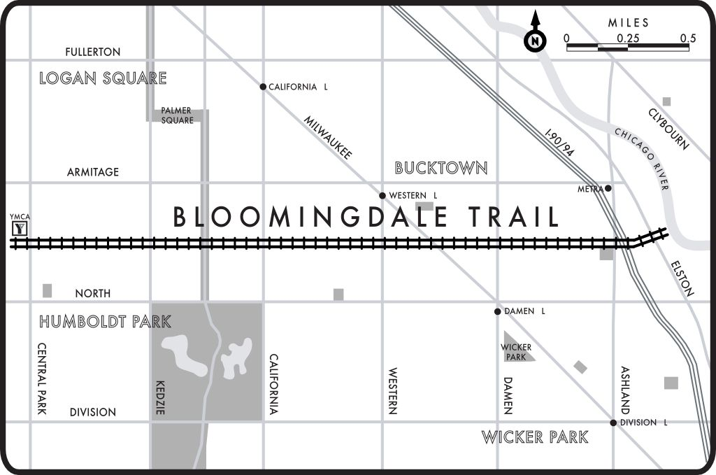 Bloomingdale Trail A guide to Chicagos 606 Trail