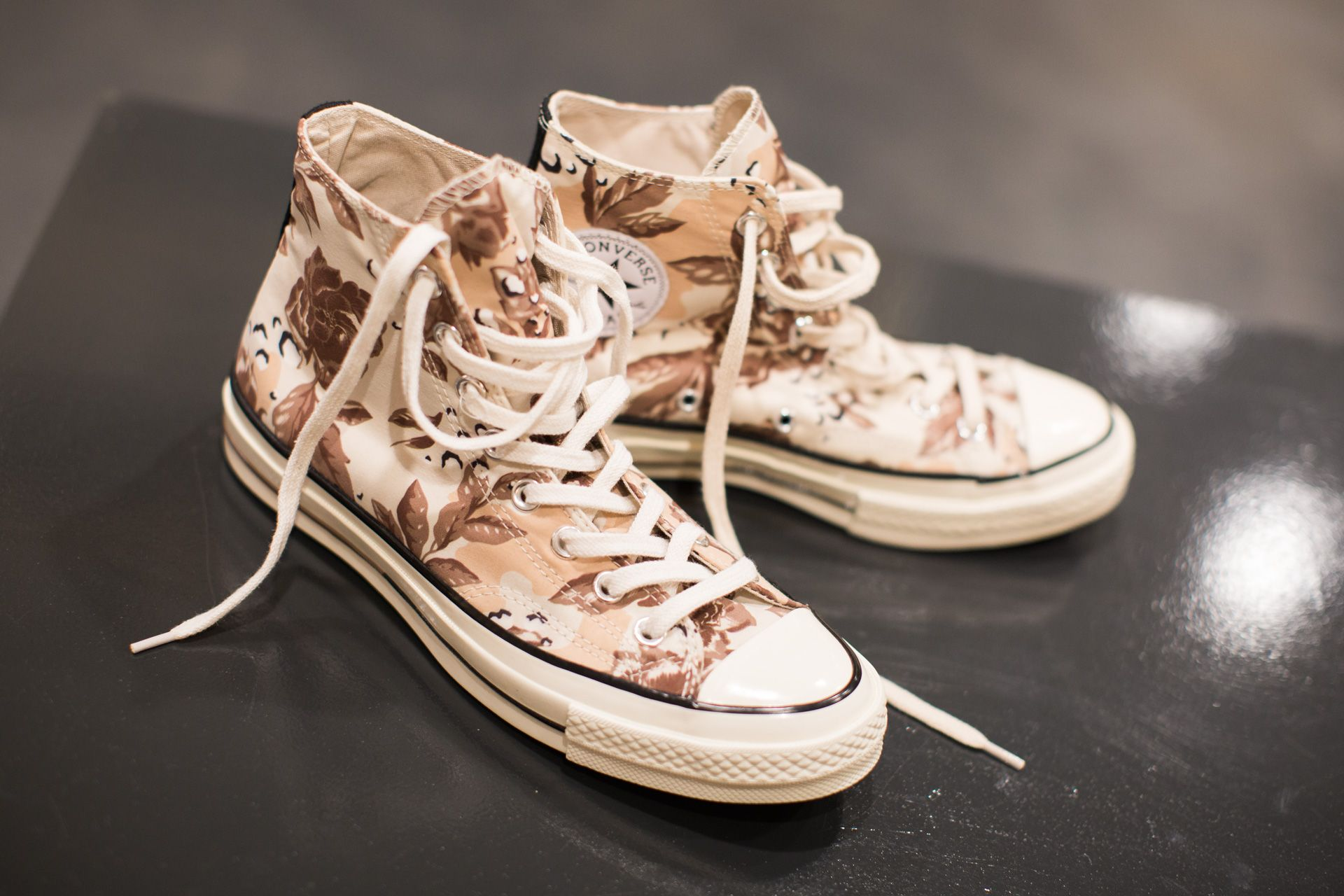 2d97369ef1d7 CONVERSE CHUCK TAYLOR HI  70  FLORAL PACK  TURTLEDOVE MUSTANG EGRET  available