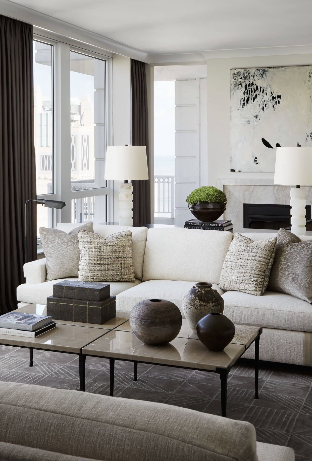 Staging Tip 1 Make The Room Look Larger By Hang Curtains Or