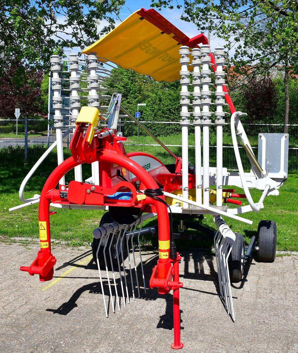 Pottinger Eurotop 382 Schwader Stegemann Landtechnik Fahrwerk Landwirtschaft