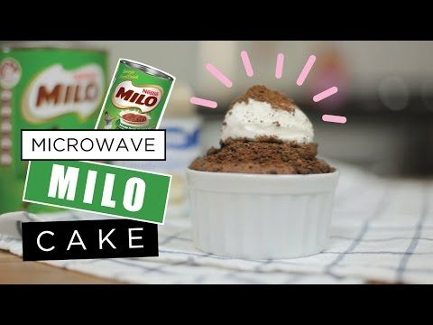 One Minute Milo Chocolate Mug Cake | Makeshift Meals ...
