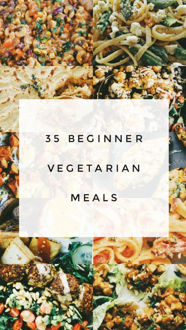25 Beginner Vegetarian Meals: Veggie Yum images