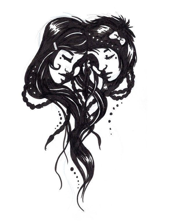 Cool Gemini Tattoo   gemini tattoo by ~SilvaraDragon on ...