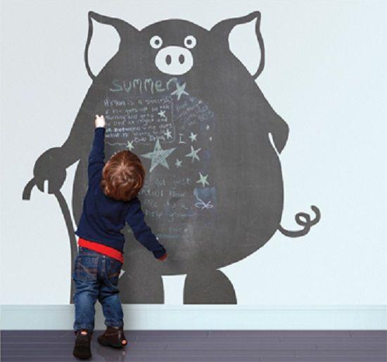 ideas originales para decorar paredes infantiles