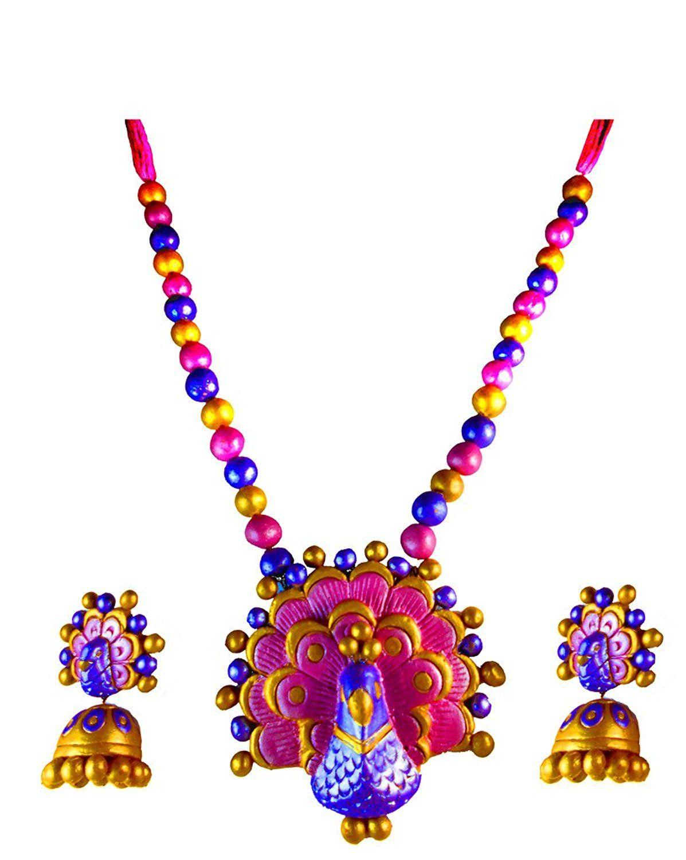 Premium Terracotta Jewellery -Eco Friendly Terracotta Clay ...