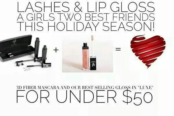 $50 perfect gift. Deadline to order for Christmas delivery  is today! Click here Www.wowlashesxtreme.com. Click Link in comments below.