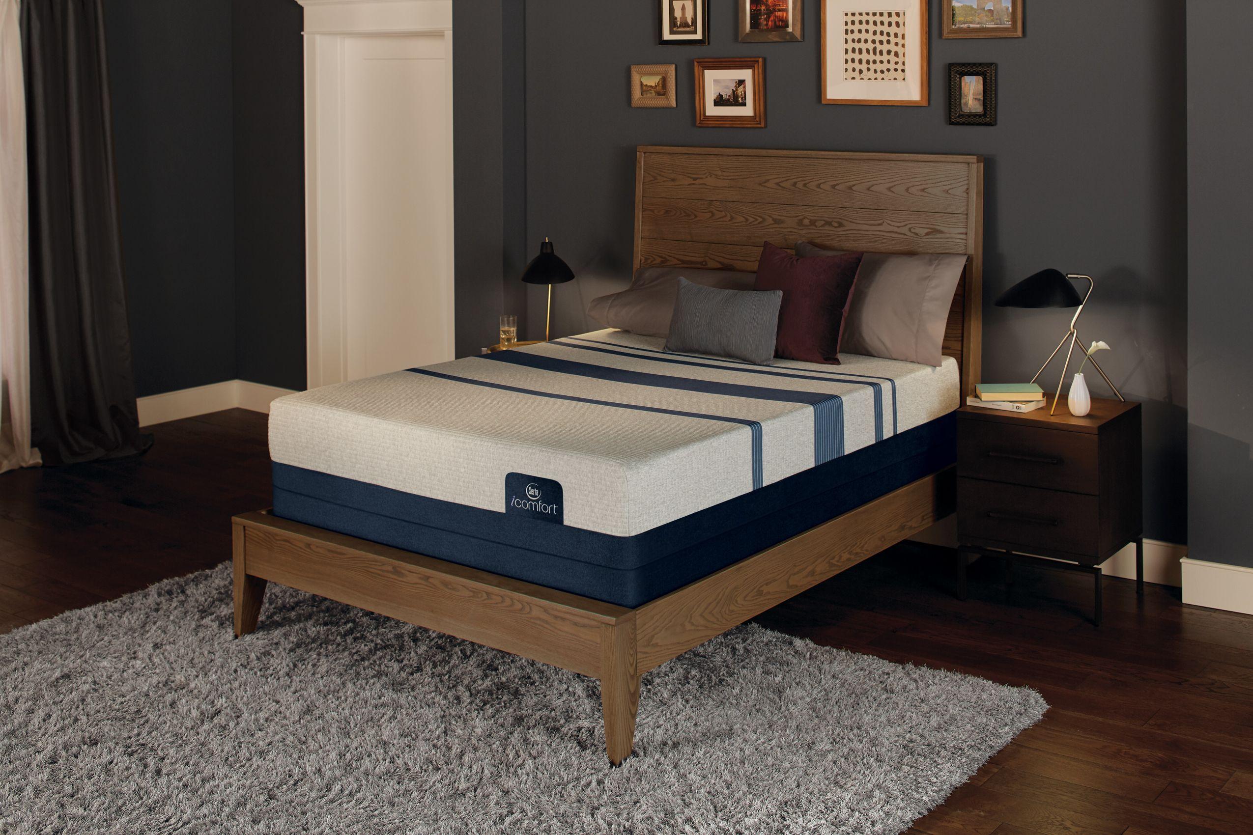 Serta Foam Blue 300 Firm Set Mattress sets