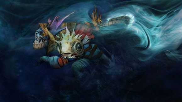 Slark Dota 2 1920 1080 6k Wallpaper Hd Hero Wallpaper Hero Wallpapers Hd Chibi Wallpaper
