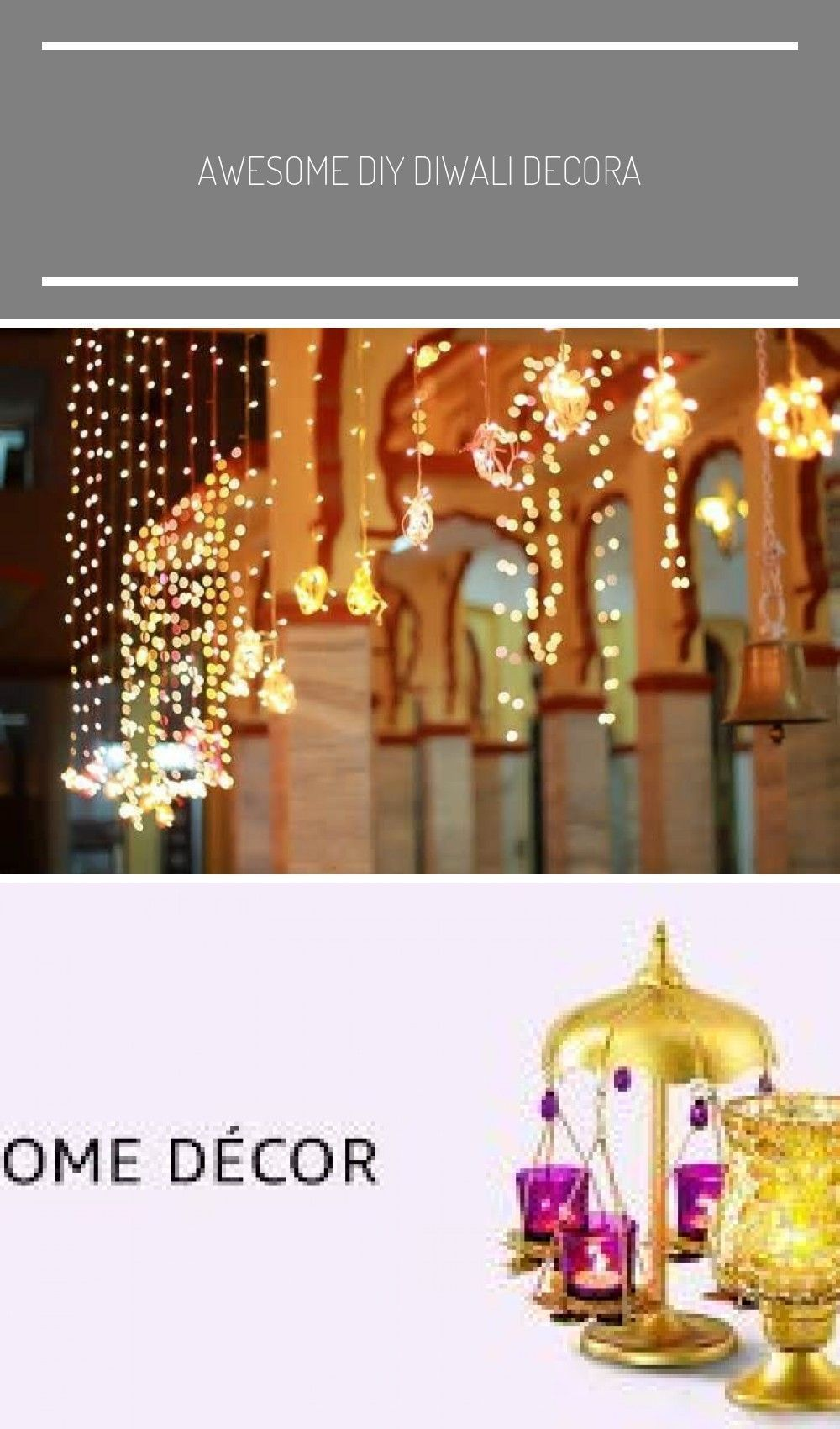 Awesome DIY Diwali Dekoration #Ideen zu versuchen bei #Home #homedesign #homedecor #diw ... #...