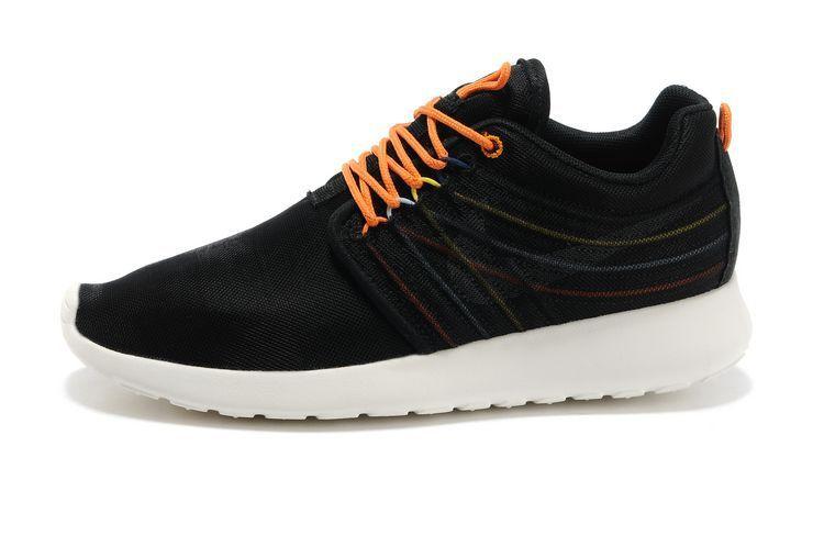 Nike Roshe Run Dyn FW Damen Schwarz Orange Weiß Couple Schuhe Verkauf Schweiz