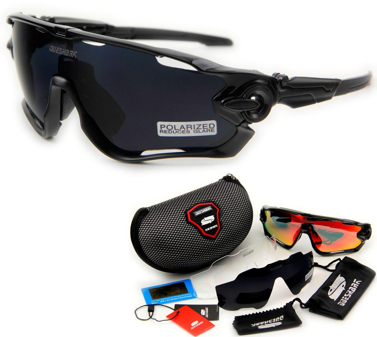 Queshark Brand Tour De France Polarized Cycling Sunglasses Cycling