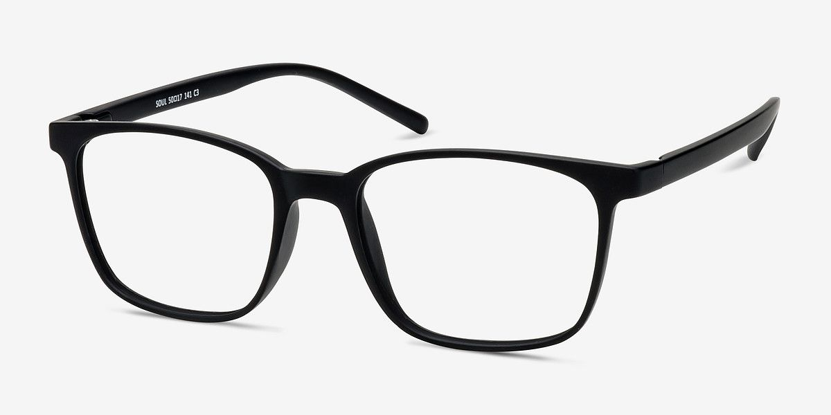 9fbf3abe53e Soul Black Plastic Eyeglasses from EyeBuyDirect. Come and discover these  quality glasses at an affordable price. Find your style now with this frame.