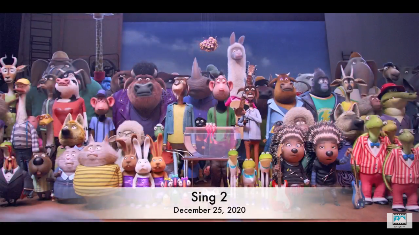 Sing 2 Sing movie, Sing trailer, Movies